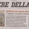 Rassegna Stampa: Corriere della Sera – Mostra Alluvione in San Lorenzo