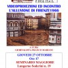 Giovedì 27 Ottobre: ore 17 al Seminario Maggiore videoproiezioni alluvione 1966