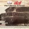 Sui mezzi ATAF si ricorda l'alluvione di Firenze del 1966