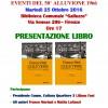 Martedì 25 ottobre ore 17: Presentazione libro di Mariani e Lattanzi su alluvione 1966