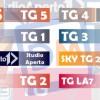 TG di varie emittenti televisive sulle cerimonie del 51° Alluvione di Firenze del '66