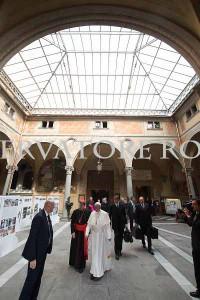 Papa a Firenze Mostra 50 Alluvione di Firenze Promuove Franco Mariani