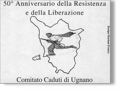 logo 50 liberazione Comitato Caduti Ugnano