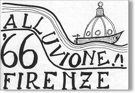 logo iniziative alluvione 66 Associazione Firenze Promuove