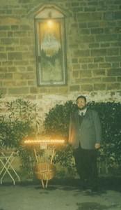0069- PRESIDENTE MARIANI ALLA MADONNA DELL'ALLUVIONE DI FIRENZE DEL MAESTRO GALEAZZO AUZZI IN PIAZZA DALLA COSTA