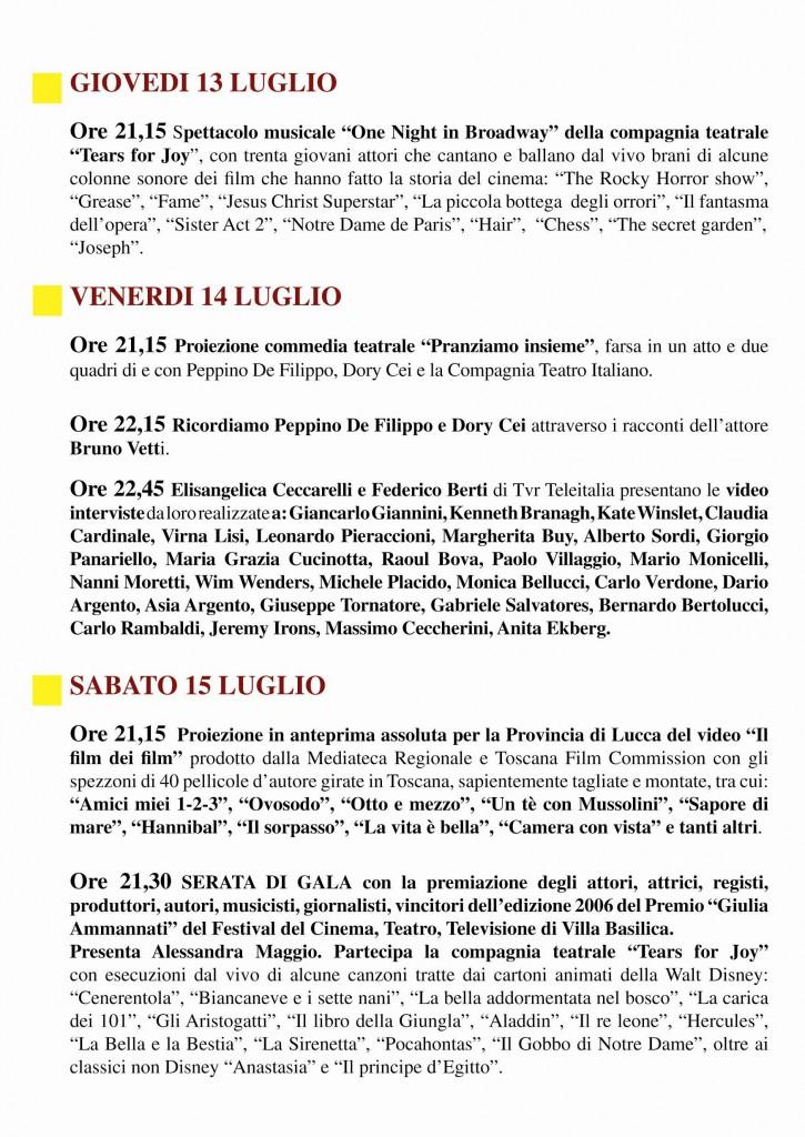 Festival Villa Basilic 2006 - 4