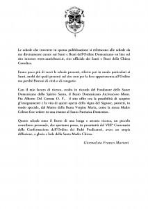 Libro SANTI  BEATI TESTIMONI DELLA FEDE DOMENICANI di Franco Mariani-page-002