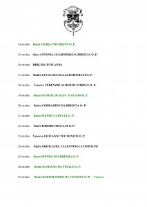 Libro SANTI  BEATI TESTIMONI DELLA FEDE DOMENICANI di Franco Mariani-page-025