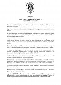 Libro SANTI  BEATI TESTIMONI DELLA FEDE DOMENICANI di Franco Mariani-page-165