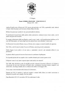 Libro SANTI  BEATI TESTIMONI DELLA FEDE DOMENICANI di Franco Mariani-page-190