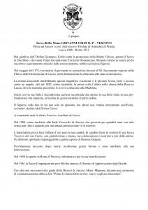 Libro SANTI  BEATI TESTIMONI DELLA FEDE DOMENICANI di Franco Mariani-page-201