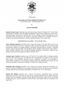 Libro SANTI  BEATI TESTIMONI DELLA FEDE DOMENICANI di Franco Mariani-page-319
