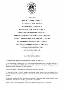 Libro SANTI  BEATI TESTIMONI DELLA FEDE DOMENICANI di Franco Mariani-page-390