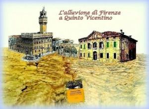 Alluvione di Firenze a Quinto Vicentino 20 gennaio 2017