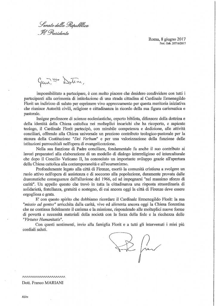 Messaggio Presidente del Senato per Card Florit-page-001