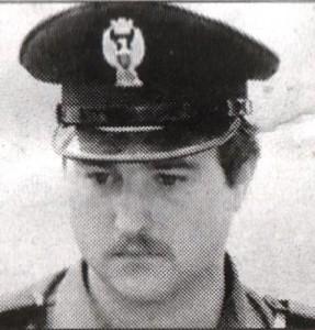 agente Fausto Dionisi ucciso dai terroristi il 20 gennaio 1978 a Firenze