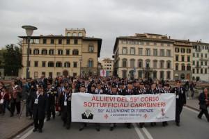 Carabinieri Angeli del Fango a Firenze per 50 Alluvione